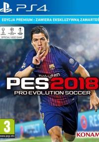 Pro Evolution Soccer 2018 (2017) plakat