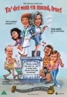 plakat - Ta' det som en mand, frue! (1975)