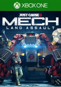 Just Cause 3: Mech Land Assault (2016) plakat