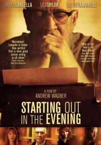 Starting Out in the Evening (2007) plakat