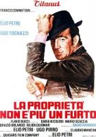 plakat - Własność nie pochodzi już z kradzieży (1973)