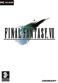Final Fantasy VII (1997) plakat