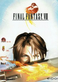 Final Fantasy VIII (1999) plakat