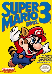 Super Mario Bros. 3 (1988) plakat