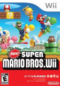 New Super Mario Bros. Wii (2009) plakat