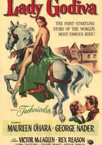Lady Godiva (1955) plakat