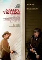 plakat - Dolina przemocy (2016)