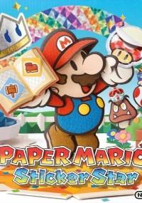 Paper Mario: Sticker Star (2012) plakat