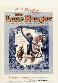 The Lone Ranger (1956) plakat