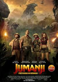 Jumanji: Przygoda w dżungli (2017) plakat
