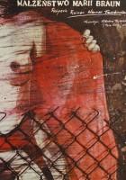 plakat - Małżeństwo Marii Braun (1979)