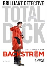 Backstrom (2015) plakat