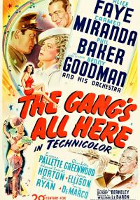 The Gang's All Here (1943) plakat