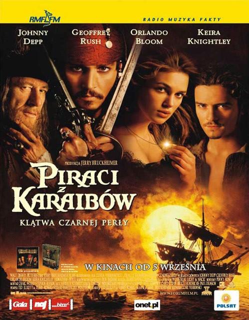 Piraci z Karaibów: Klątwa Czarnej Perły Poster