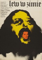 plakat - Lew w zimie (1968)