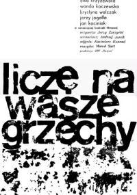 Liczę na wasze grzechy (1963) plakat