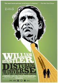 William Kunstler: Disturbing the Universe (2009) plakat