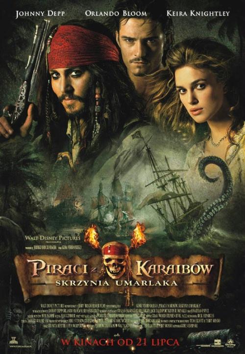 Piraci z Karaibów: Skrzynia umarlaka Poster