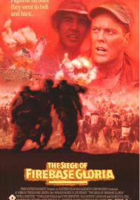 Oblężenie bazy Gloria (1989) plakat