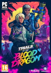 Trials of the Blood Dragon (2016) plakat