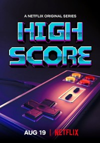 High Score: Złota era gier (2020) plakat