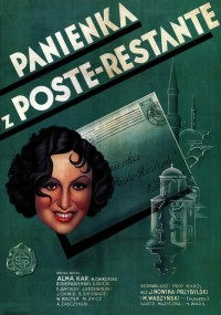 Panienka z poste restante (1935) plakat