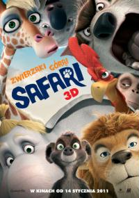 Safari 3D (2010) plakat