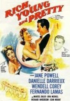 Rich, Young and Pretty (1951) plakat