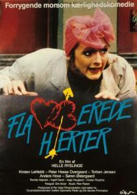 Flamberede hjerter (1986) plakat