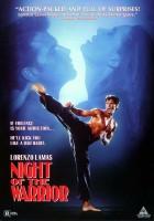 plakat - Noc wojownika (1991)