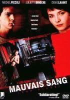 plakat - Zła krew (1986)