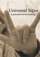 Universal Signs (2008) plakat
