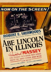 Abe Lincoln in Illinois (1940) plakat