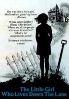 plakat - Mała dziewczynka, która mieszka na końcu drogi (1976)