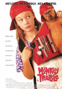 Małpi kłopot (1994) plakat