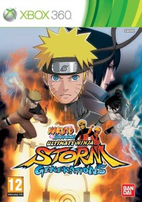 Naruto Shippuden: Ultimate Ninja Storm Generation (2012) plakat