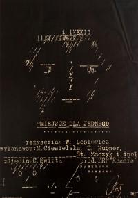 Miejsce dla jednego (1965) plakat