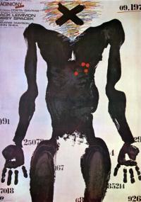 Zaginiony (1982) plakat