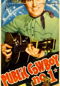 Public Cowboy No. 1 (1937) plakat