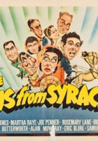 plakat - The Boys from Syracuse (1940)