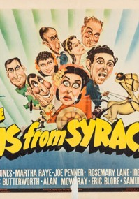 The Boys from Syracuse (1940) plakat