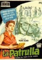 La patrulla (1954) plakat