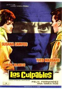 Los Culpables (1962) plakat
