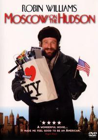 Moskwa nad rzeką Hudson (1984) plakat