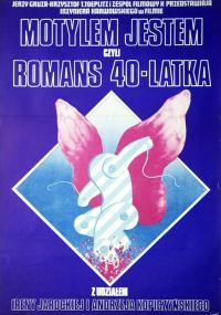 Motylem jestem, czyli romans 40-latka (1976) plakat