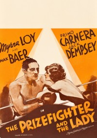 The Prizefighter and the Lady (1933) plakat