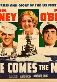 Nadchodzi Navy (1934) plakat