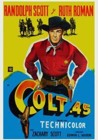 Colt .45 (1950) plakat