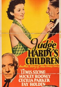 Judge Hardy's Children (1938) plakat