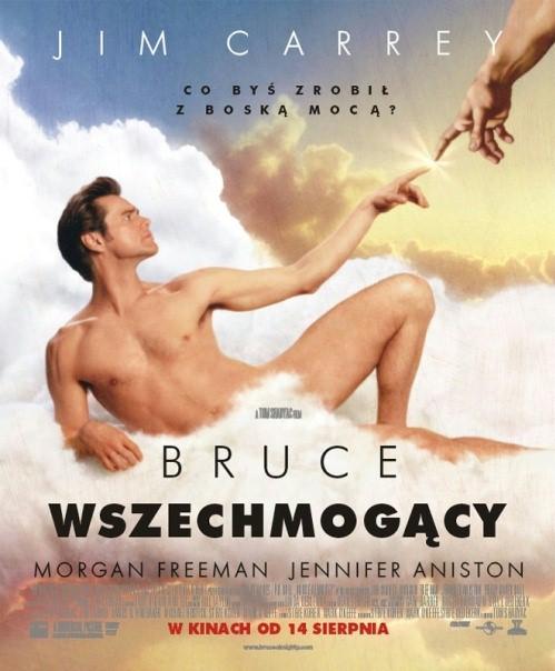 Bruce Wszechmogący Poster
